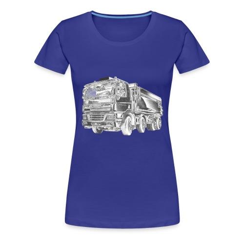Tipper Truck 8x4 - Women's Premium T-Shirt
