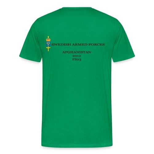 Swedish Armed Forces - Premium-T-shirt herr