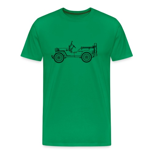 Jeep Willys ou Ford - T-shirt Premium Homme