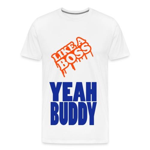 Like A Boss Mens T-Shirt - Men's Premium T-Shirt