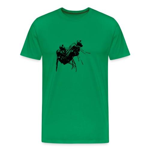 Fliege - Männer Premium T-Shirt