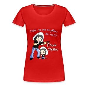 Mini-Kriss - Gateau de Riz - femme - T-shirt Premium Femme