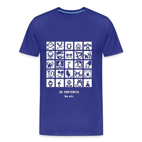T-shirt-jeu BD/Animation - T-shirt Premium Homme