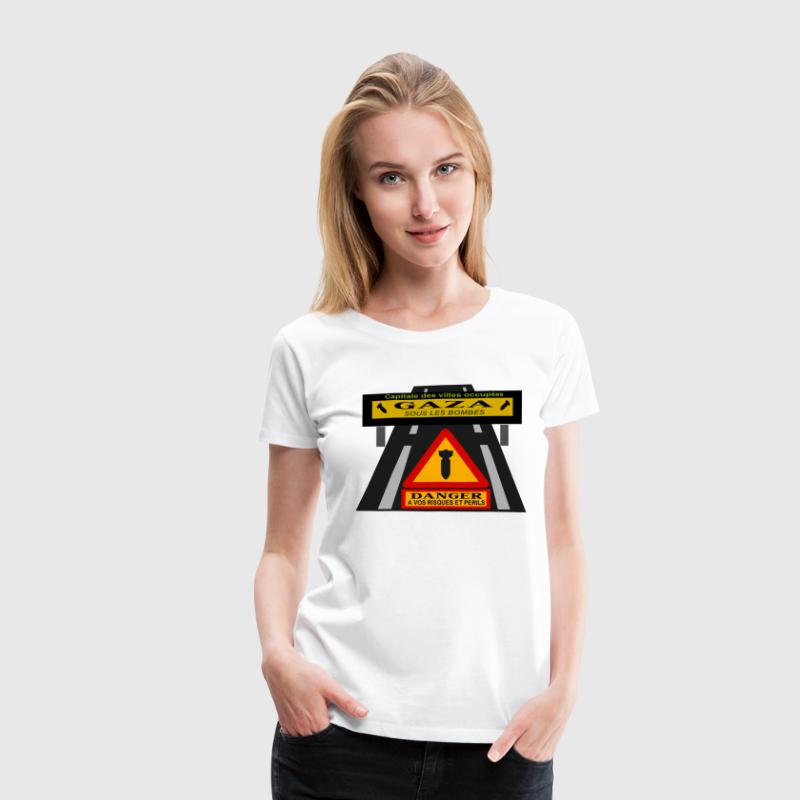 Gaza under attack. - Women's Premium T-Shirt