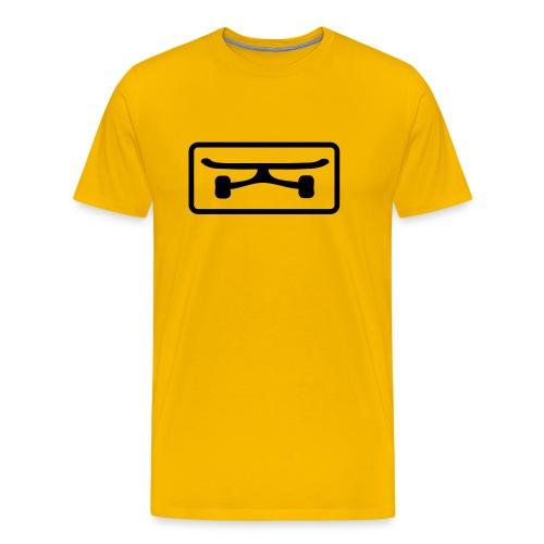 Black Board - Männer Premium T-Shirt