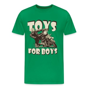 Toys for boys biker t-shirt - Men's Premium T-Shirt