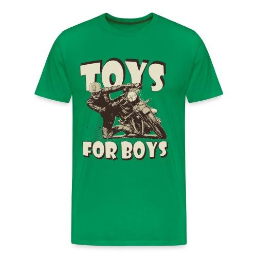 Toys for boys biker t-shirt - Men's Premium T-Shirt