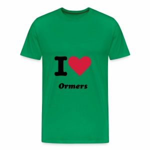 Guernsey I Love Ormer T Shirt Father's Day - Men's Premium T-Shirt