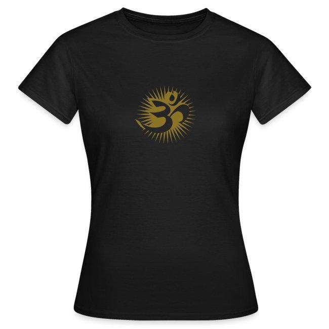 OM 3D gold - T-Shirt