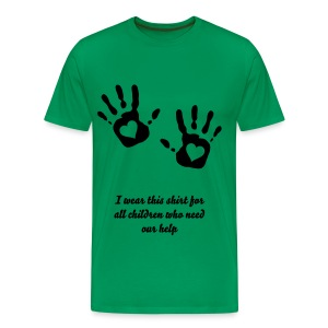 Man`s help for children - Männer Premium T-Shirt