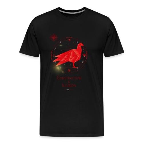 Construction&Illusion - Männer Premium T-Shirt