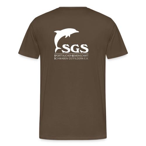 SGS Herren T-Shirt WEISS - Männer Premium T-Shirt