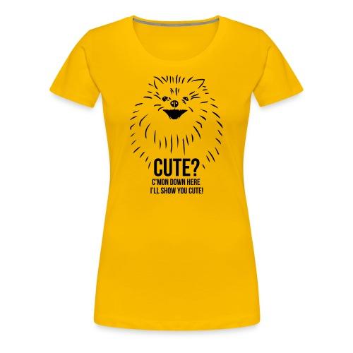 T by Cutie - Premium-T-shirt dam