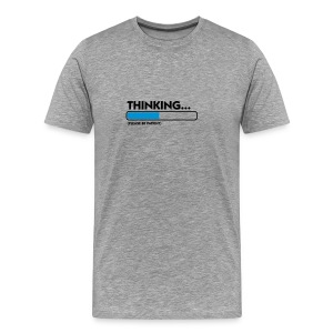 thinking - T-shirt Premium Homme