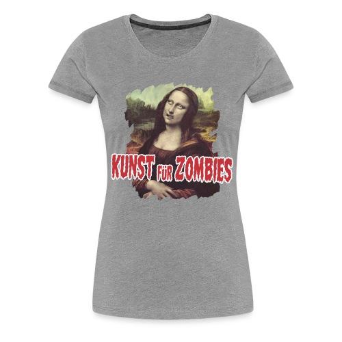 Kunst für Zombies - Frauen Premium T-Shirt