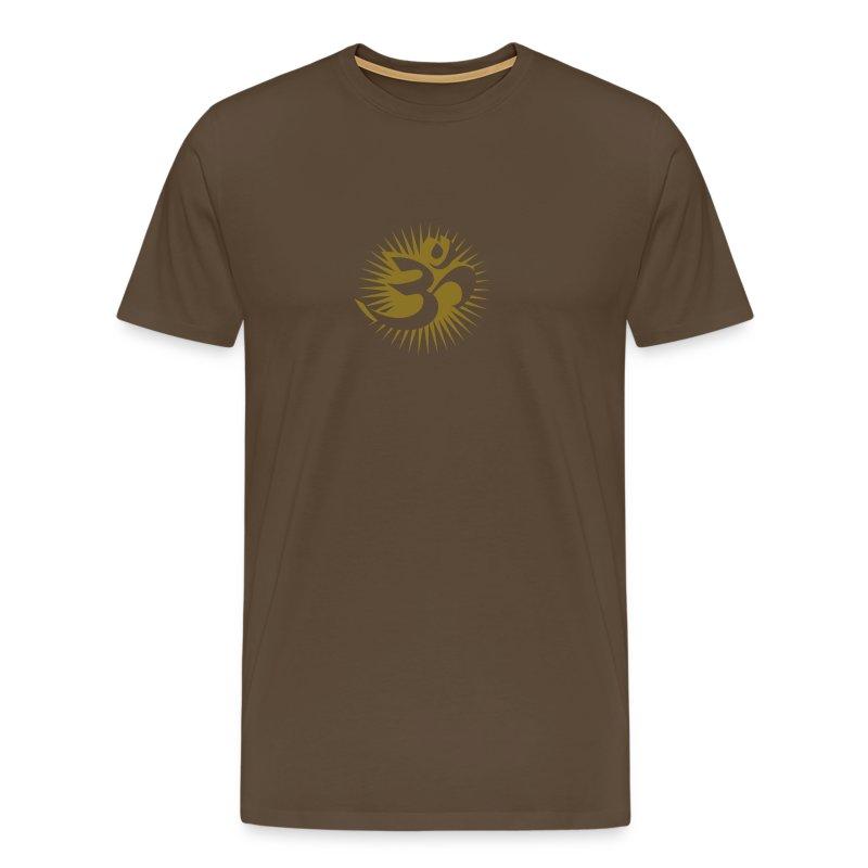 OM 3D gold - T-Shirt - Männer Premium T-Shirt