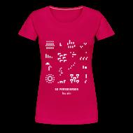 Tee shirts ~ Tee shirt Premium Femme ~ T-shirt-jeu 53·personnages