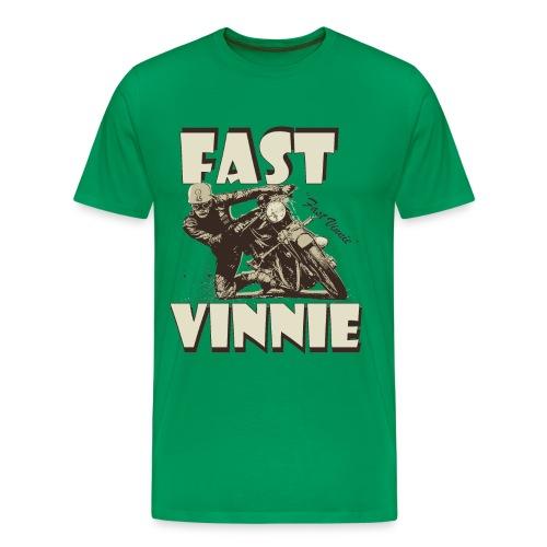 Fast Vinnie biker t-shirt - Men's Premium T-Shirt