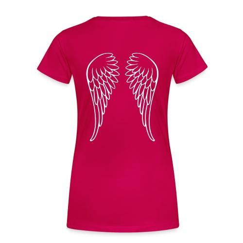 angel t-shirt - Vrouwen Premium T-shirt