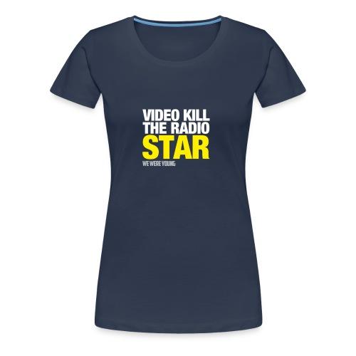 T-Shirt col rond The Radio Star - T-shirt Premium Femme
