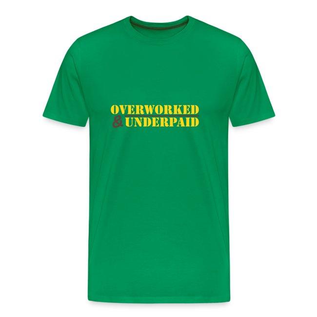 Overworked & Underpaid