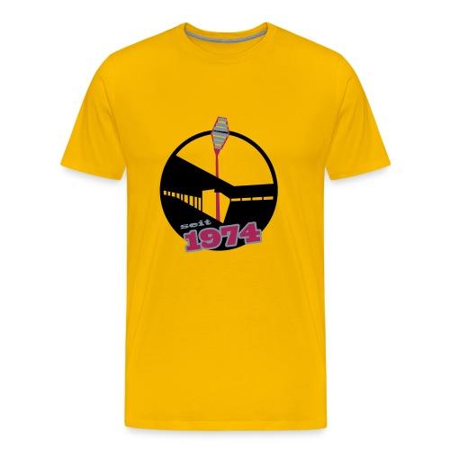 WS 1974 -gelb- - Männer Premium T-Shirt