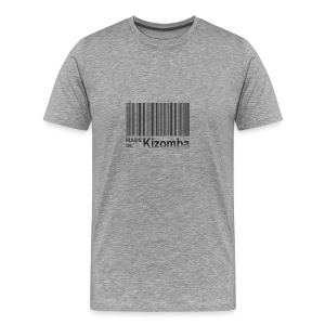 Made in kizomba blk - Men's Premium T-Shirt