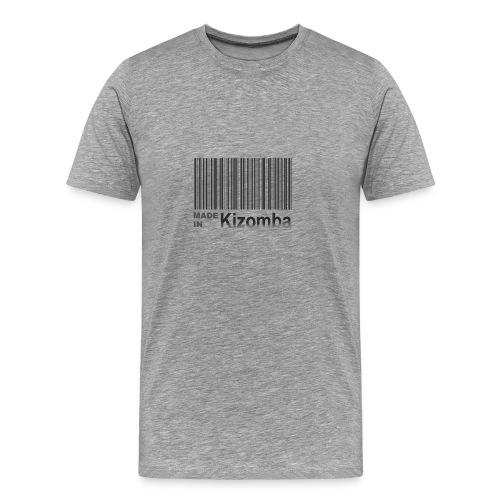 Made in kizomba blk - Men's Premium T-Shirt
