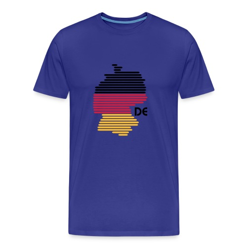 Deutschlandgrafik - Männer Premium T-Shirt