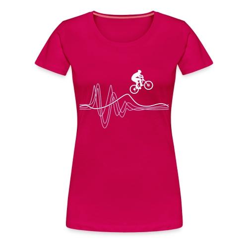 Women's Jump T-shirt - Lavender print - Women's Premium T-Shirt