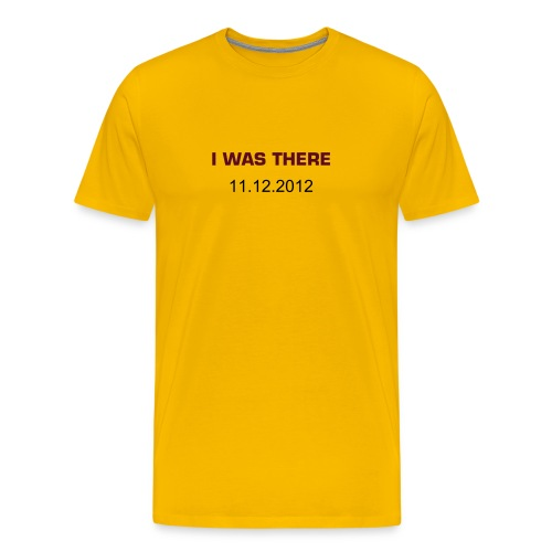 I was there - Men's Premium T-Shirt