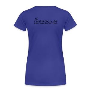 Motiv: Schwarzleser (klassisch)   Druck: schwarz   verschiedene Farben - Frauen Premium T-Shirt