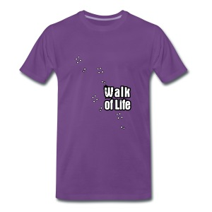 Walk of Life - Mannen Premium T-shirt