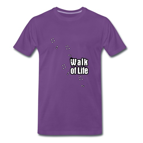 Walk of Life - Mannen Premium T-shirt