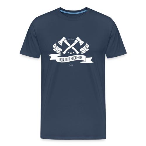 bonjour bucheron - T-shirt Premium Homme