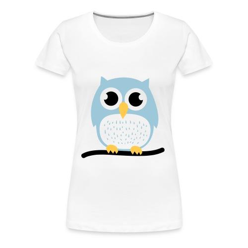 Woman Tee - Owl - Women's Premium T-Shirt