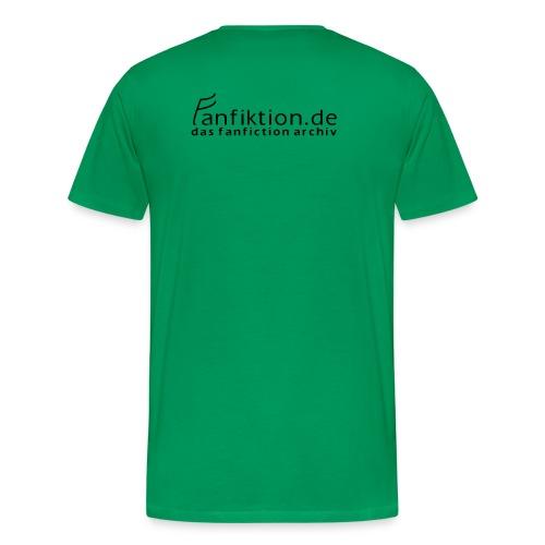 Motiv: Irrelefant (klassisch) | Druck: schwarz/grau/weiß | verschiedene Farben - Männer Premium T-Shirt