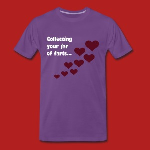 Collecting your jar of farts (Valentine's Day) - Men's Classic T-shirt - Men's Premium T-Shirt