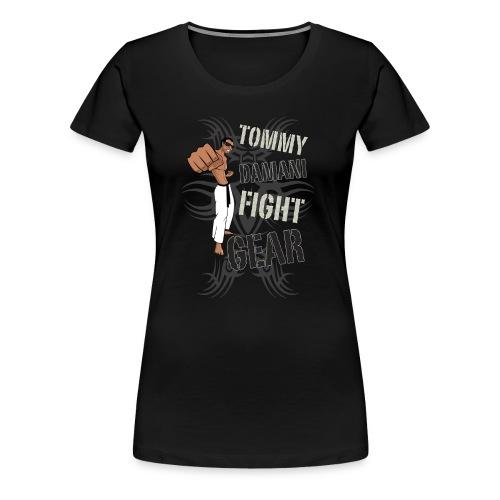 Tommy Damani Fight Gear - Women's Premium T-Shirt