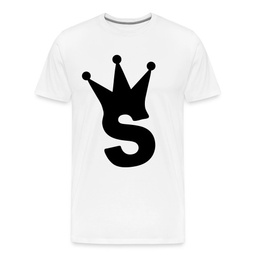 Logo Tee White - Men's Premium T-Shirt