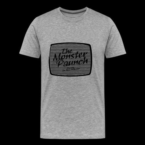 The Monster Paunch (black) - Miesten premium t-paita