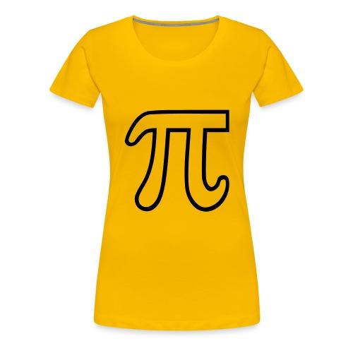 Tee Shirt Pi femme - T-shirt Premium Femme