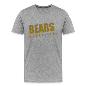 BEARS Vintage Tee - Grey (Metallic) - Men's Premium T-Shirt