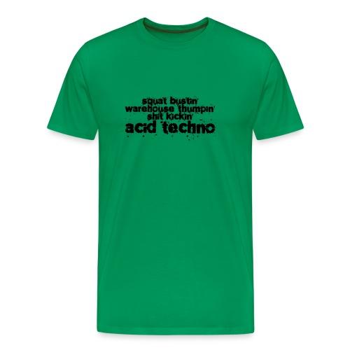 Squat Busting Black - Men's Premium T-Shirt