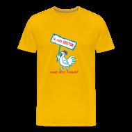 Tee shirts ~ T-shirt Premium Homme ~ Je suis BRETON avant d'être Français