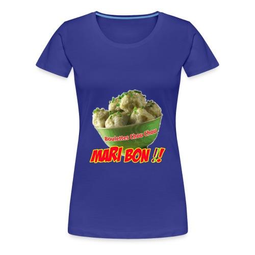 Mari bon couleurs Femme - T-shirt Premium Femme