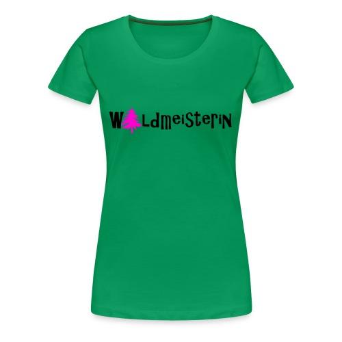 Waldmeisterin - Frauen Premium T-Shirt