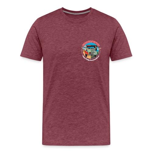 Logo Coeur+Dos - T-shirt Premium Homme