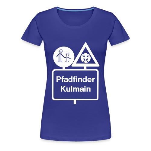 Frauen Shirt Stammeslogo weiß vorne - Frauen Premium T-Shirt