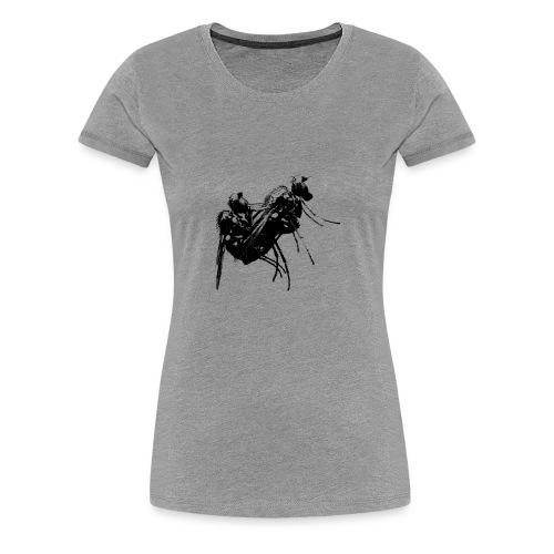 Fliege - Frauen Premium T-Shirt